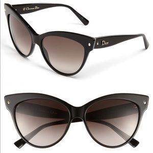 EUC Dior Mohotani 58 mm Cat Eye sunglasses